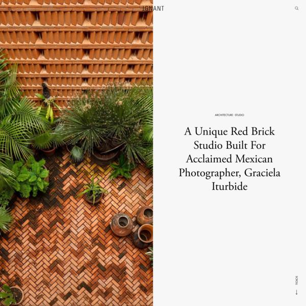 A Unique Red Brick Studio Built For Acclaimed Mexican Photographer, Graciela Iturbide - IGNANT