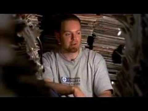 A clip featuring DJ Shadow from the 2002 film 'Scratch', which is a documentary about the hip hop DJ. You can pick up a copy at Amazon here: http://www.amazon.com/Scratch-Dol-Dts-Yoga-Frog/dp/B00006AL1G/sr=1-1/qid=1168806784/ref=pd_bbs_sr_1/104-3881885-5119134?ie=UTF8&s=dvd