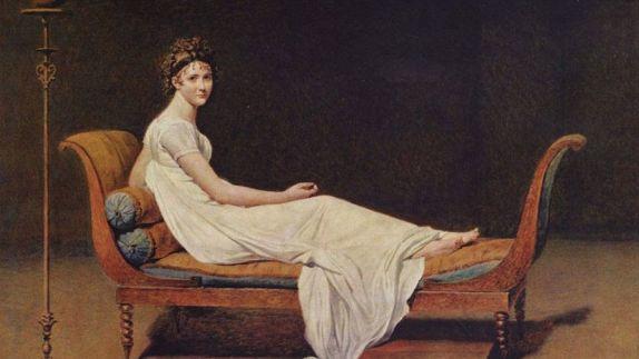 Jacques-Louis David, Madame Récamier, 1800