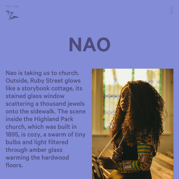 NAO - Yours Truly