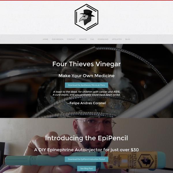 Four Thieves Vinegar