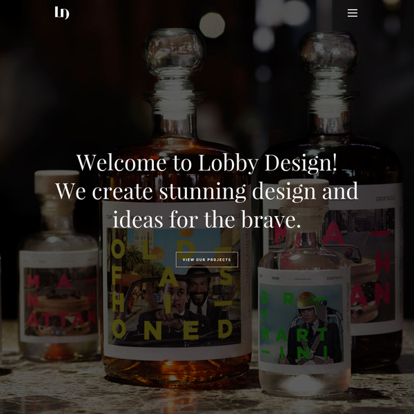 Lobby Design is a Stockholm based design agency focusing on creative branding, packaging design and web design.