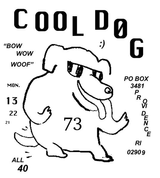 cool dog sticker providence
