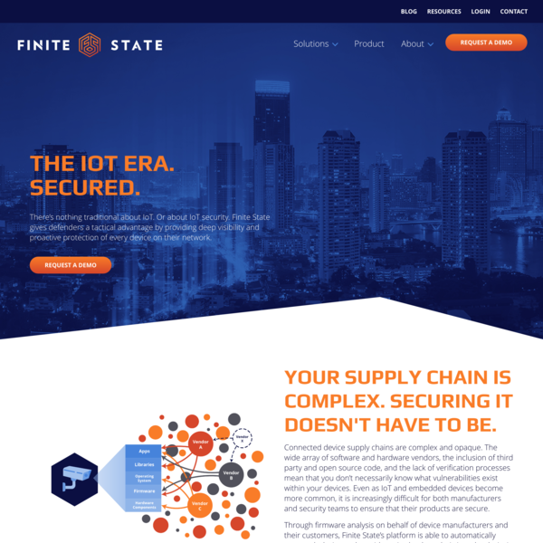 IoT and Firmware Security Solutions | Finite State