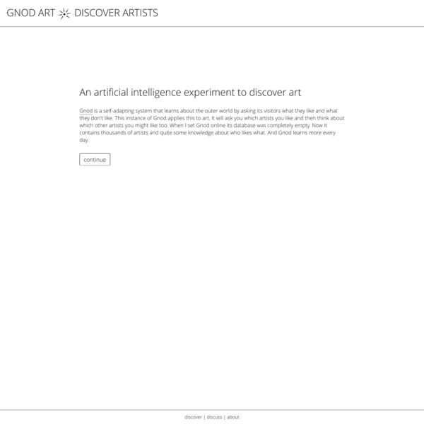 gnod ART - Discover new Artists