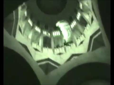 Base jumping inside the Basilica of Koekelberg