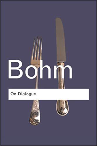 On Dialog, David Bohm