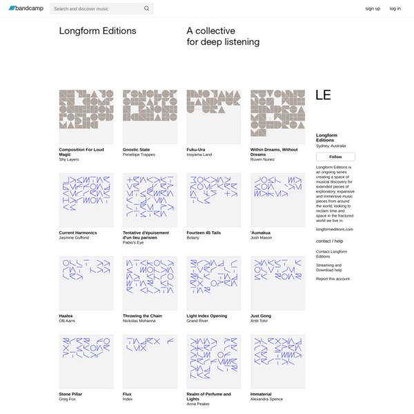 Longform Editions