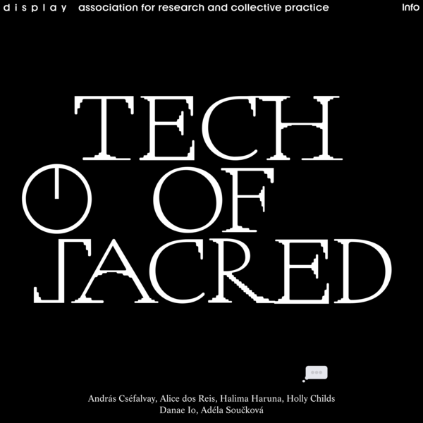Technologies of the Sacred