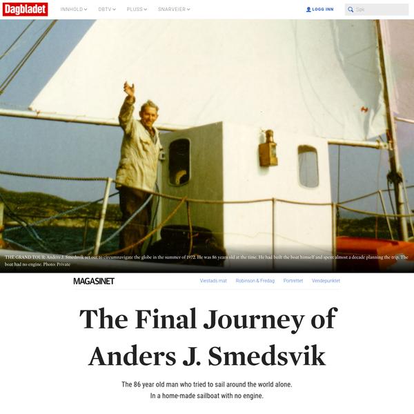 The Final Journey of Anders J. Smedsvik