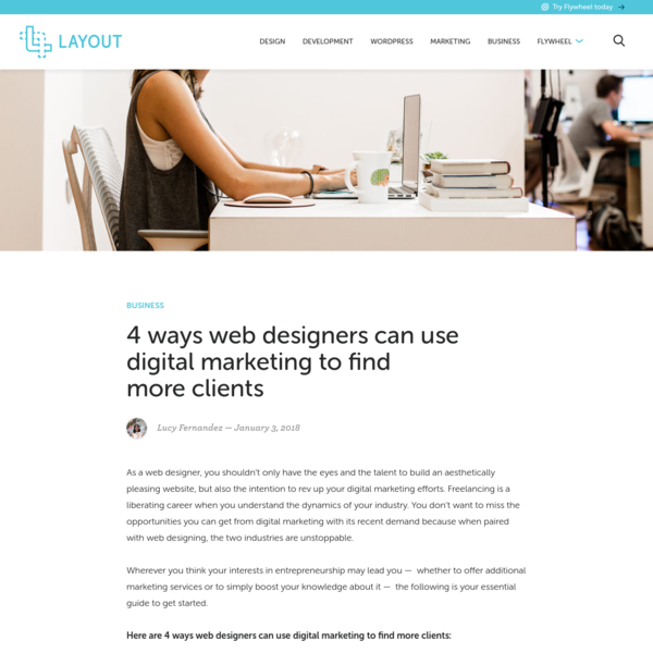 4 ways web designers can use digital marketing to find more clients