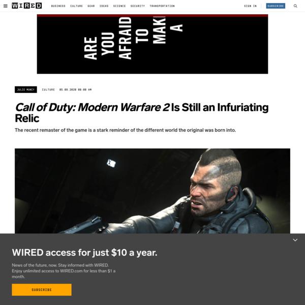 'Call of Duty: Modern Warfare 2' Is Still an Infuriating Relic