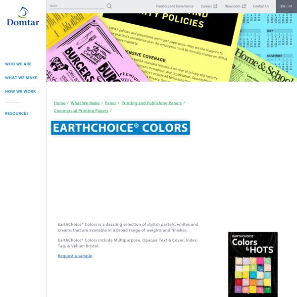 EarthChoice® Colors