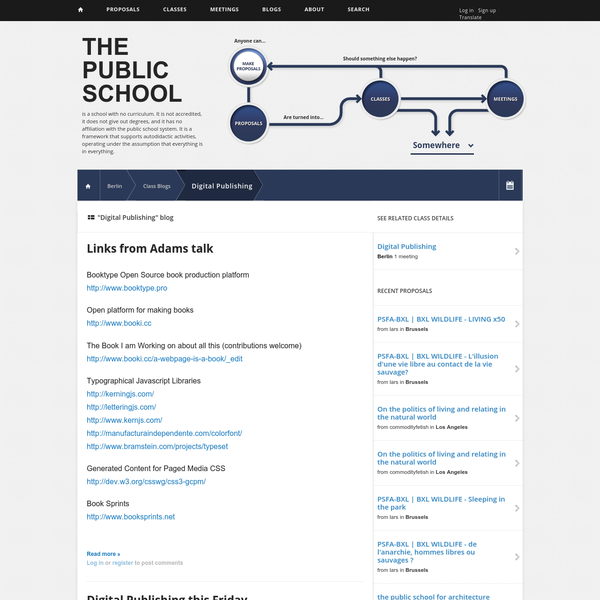 """Digital Publishing"" blog 