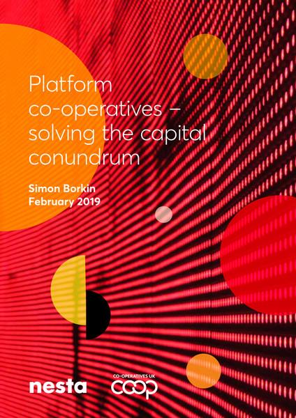 Platform Co-operatives - Solving the Capital Conundrum