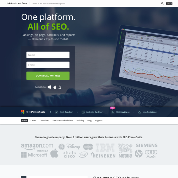 All-In-One SEO Software & SEO Tools | SEO PowerSuite