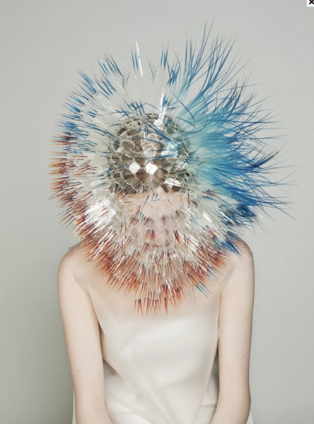 Maiko Takeda material clarity with a surreal sense of transformation. Visual landscape around the body
