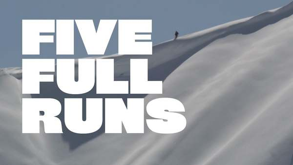 Holy smokes, this video got nominated in the Vimeo Awards... stoked! 'Five Full Runs' comes from 3 days of shooting with Tanner Hall for 'Retallack : The Movie' Cinematography & Edit by Nate Smith - www.vacuumsucks.com Sound by Dan Leavers and Fabrizio Paterlini Official movie trailer: http://www.youtube.com/watch?v=Z6ww-5THJzA