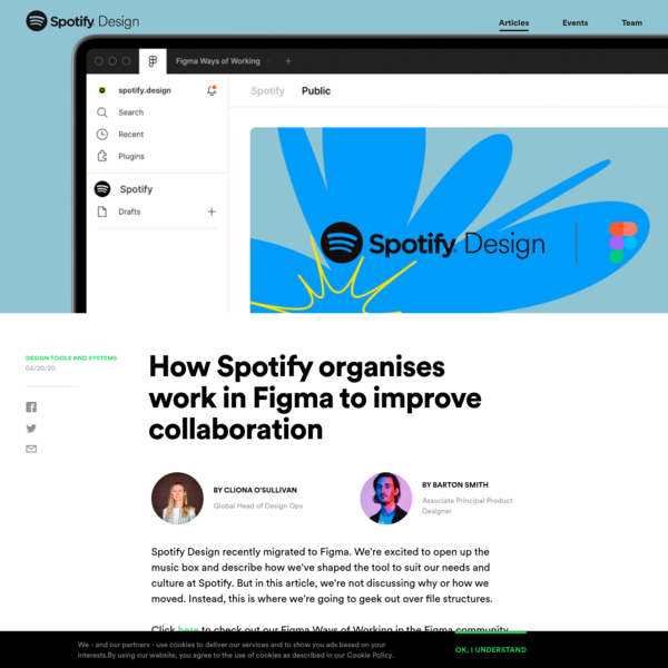 How Spotify organises work in Figma to improve collaboration