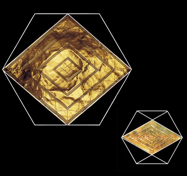 Bush Barrow Lozenge Geometry