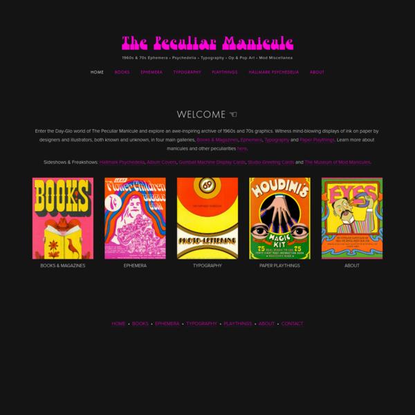 The Peculiar Manicule