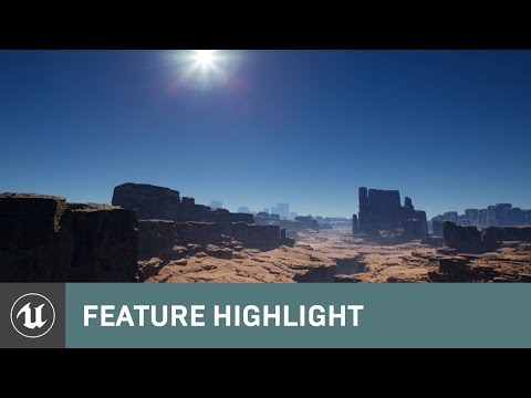 Quixel and Sky Atmosphere System Overview | Unreal Engine