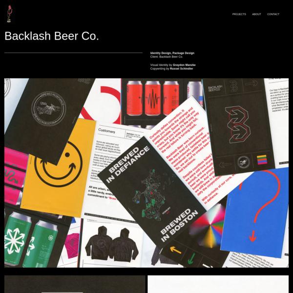 Backlash Beer Co. - Graydon Manzke