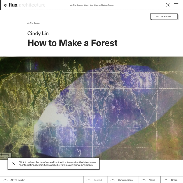 How to Make a Forest