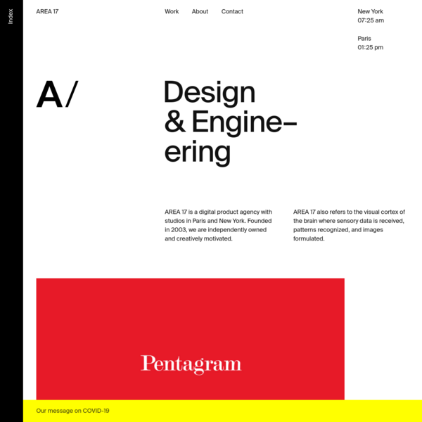 AREA 17 - A digital product agency
