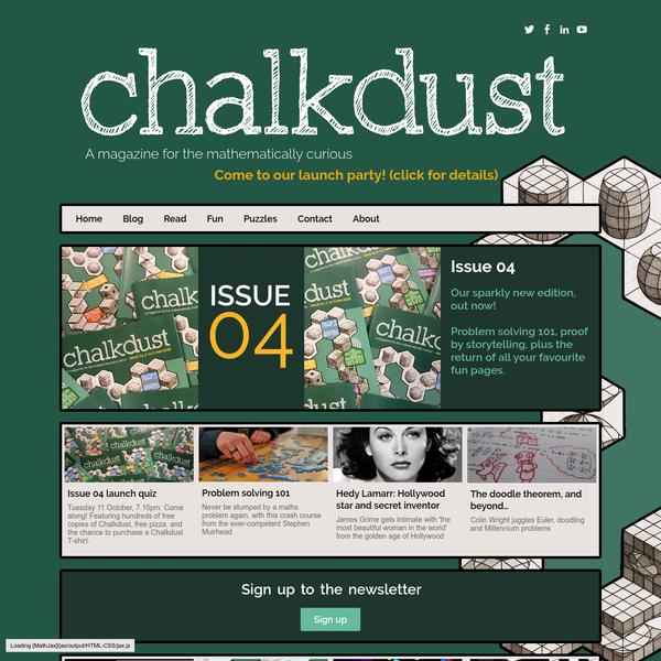 Chalkdust: Read Issue 04 now