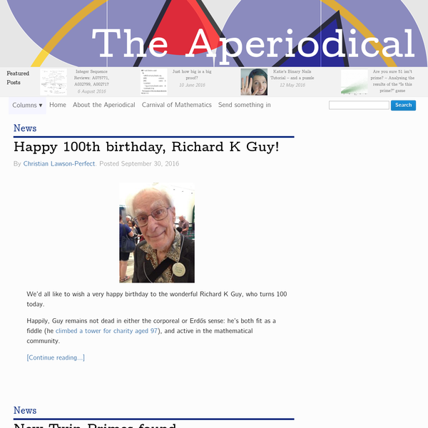 The Aperiodical