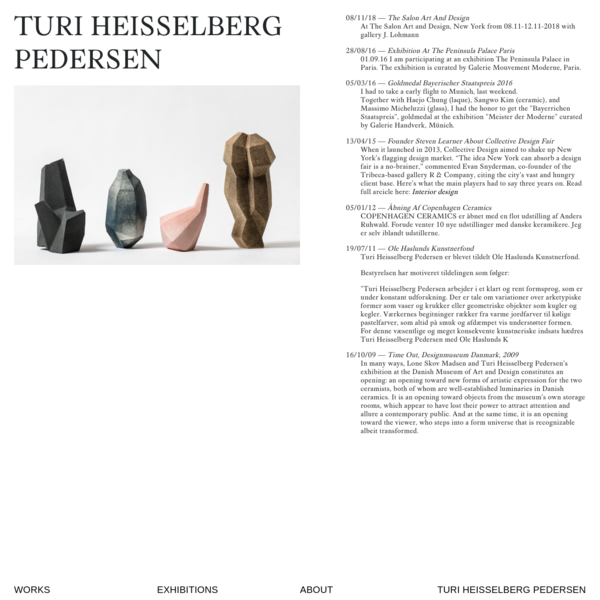Turi Heisselberg → Turi Heisselberg Pedersen