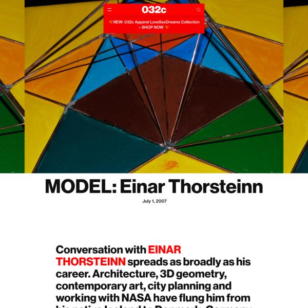 MODEL: Einar Thorsteinn - 032c