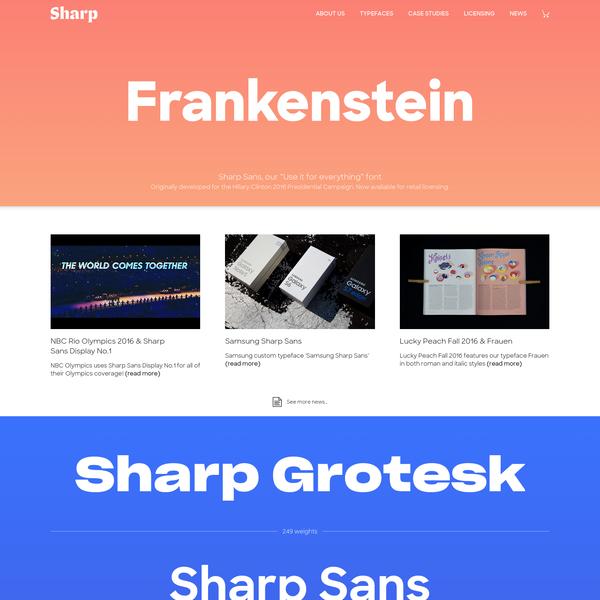 Sharp Type
