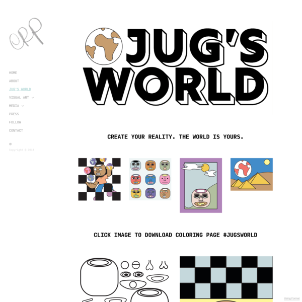 JUG'S WORLD - Elise R Peterson