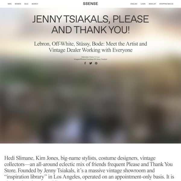 Jenny Tsiakals, Please and Thank You!