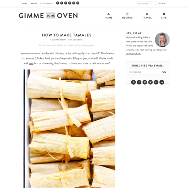 How To Make Tamales | Gimme Some Oven