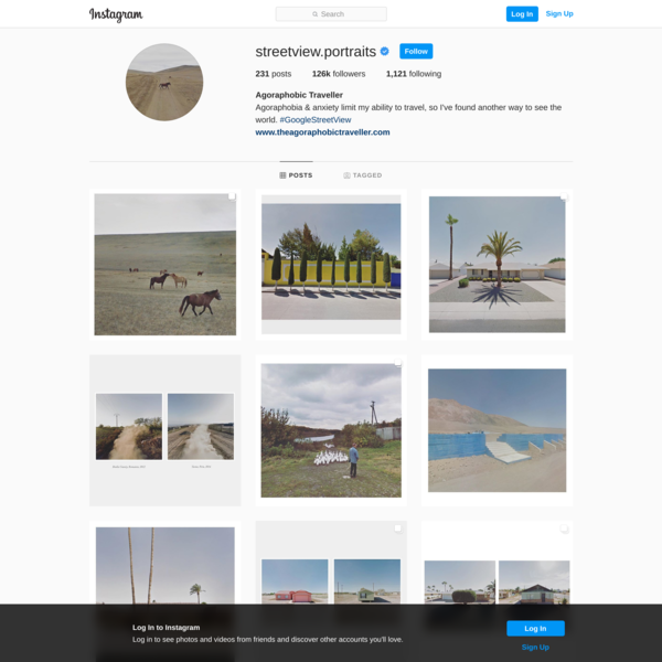 Agoraphobic Traveller (@streetview.portraits) • Instagram photos and videos