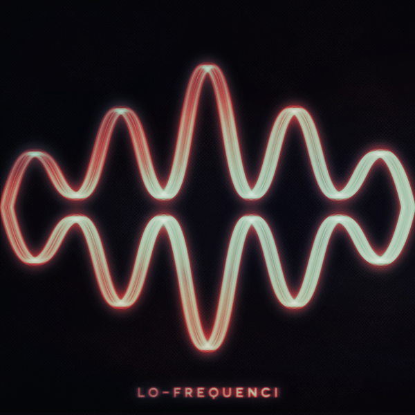 """Lo-Frequenci — """"Self-Titled"""" cover art by Nate Mandreza"""