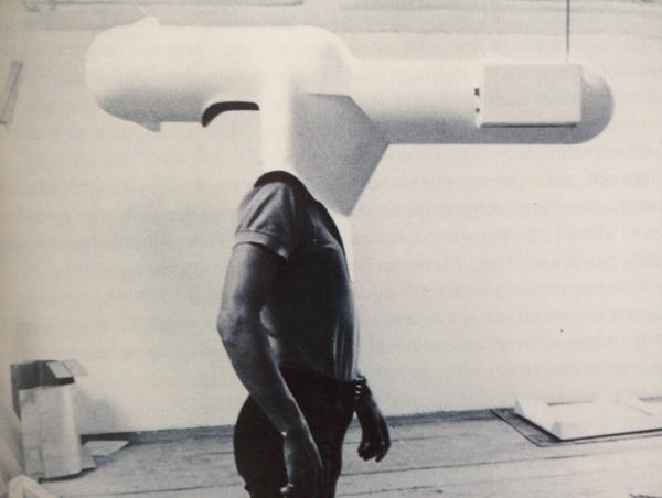 Walter Pichler's Portable Living Room, 1967