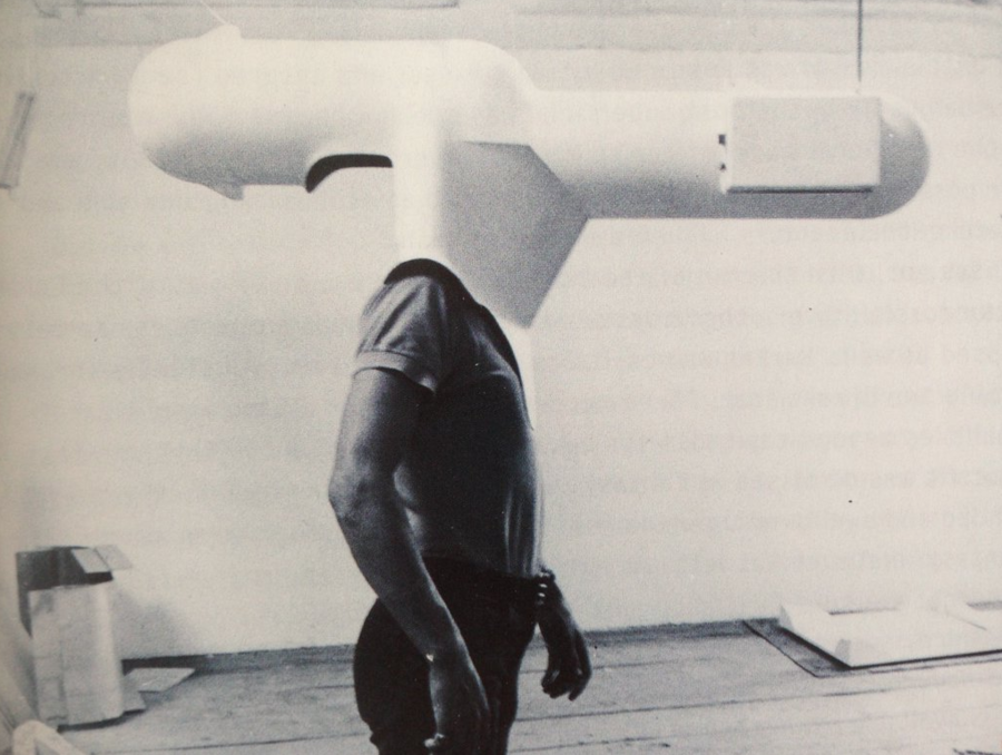Walter Pichler's Portable Living Room, 1967