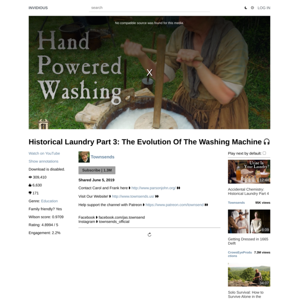 Historical Laundry Part 3: The Evolution Of The Washing Machine