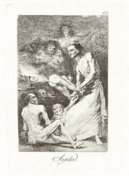 Francisco Goya - Sopla - 1799