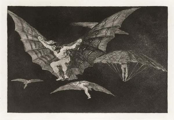 Francisco Goya - Modo de Volar - 1824