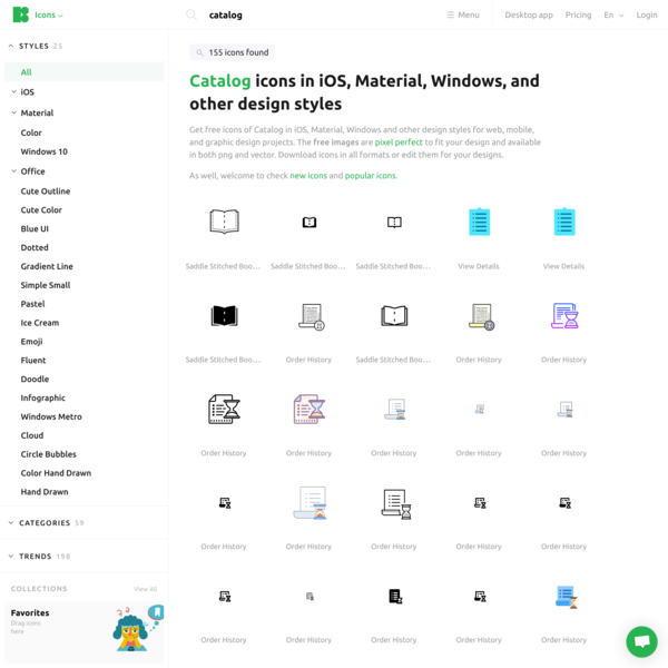 Catalog Icons - Free Download, PNG and SVG