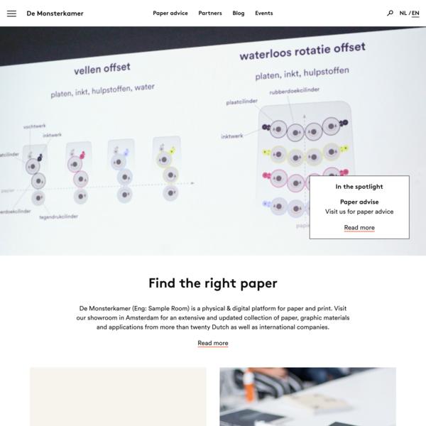 Find the right paper - De Monsterkamer