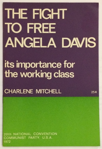 The fight to free Angela Davis; its importance for the working class