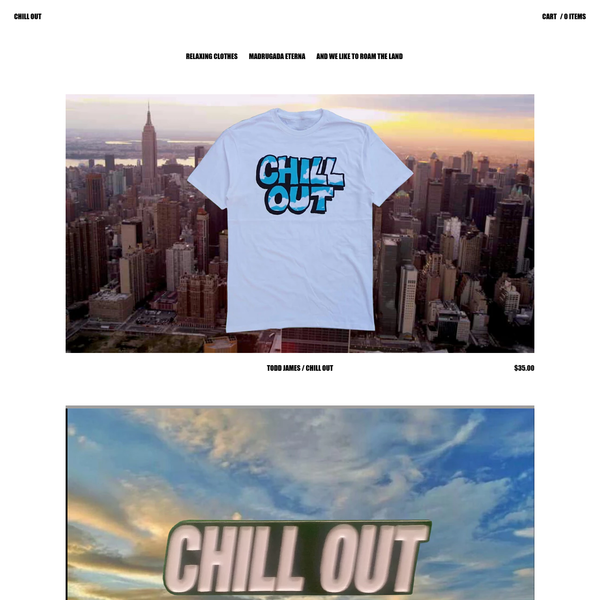Browse all products from CHILL OUT.