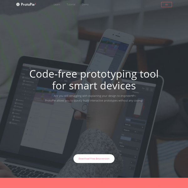 Code-free prototyping tool for smart devices