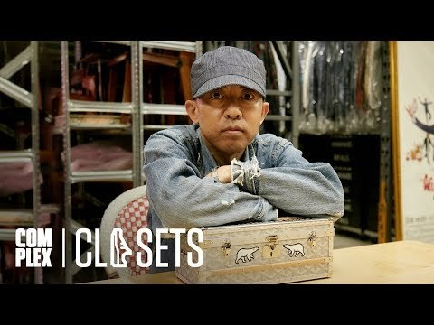 NIGO® Shows Off His Multi-Million Dollar Collection Of Rare Clothing And Jewelry On Complex Closets